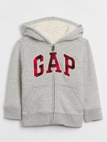 Šedá klučičí mikina GAP Logo