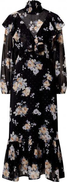 EDITED Košilové šaty \'Wiyana\' mix barev / černá