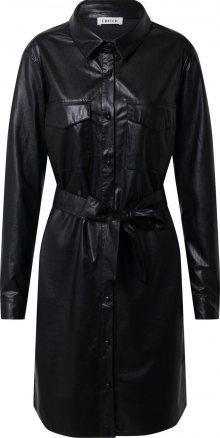 EDITED Košilové šaty \'Farha\' černá