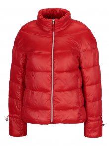 Červená prošívaná zimní bunda VERO MODA Ramona