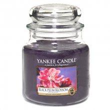 Yankee candle Vonná svíčka ve skle - květy černé švestky, 410g\n\n