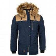 Pánská zimní bunda Alpha-m tmavě modrá XXL