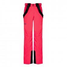 Dámské lyžařské kalhoty Elare-w růžová - Kilpi 34