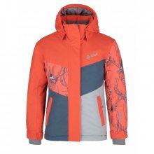 Dětská lyžařská bunda Mils-jg korálová 122