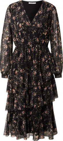 NA-KD Šaty černá / mix barev