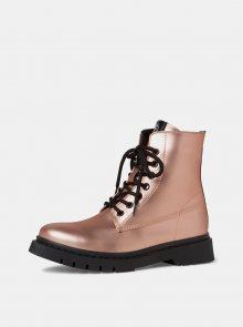 Tamaris růžové kotníkové boty - 42