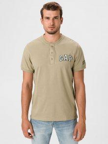 Béžové pánské tričko GAP