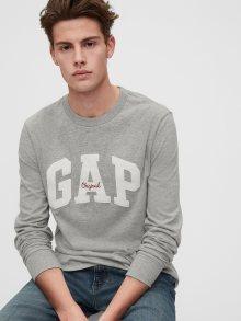 Šedé pánské tričko GAP