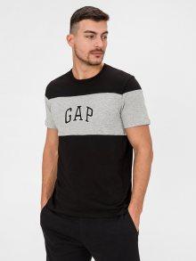 Černé pánské tričko GAP Logo