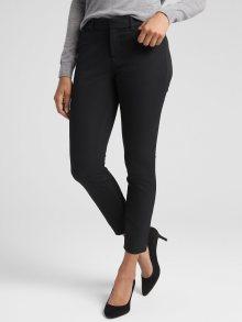 Černé dámské kalhoty GAP Skinny Bi-Stretch