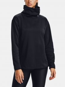 Černá mikina Under Armour Armour Fleece Funnel Neck