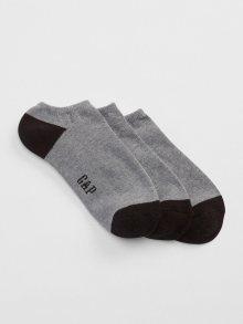 Šedé pánské ponožky GAP 3-Pack