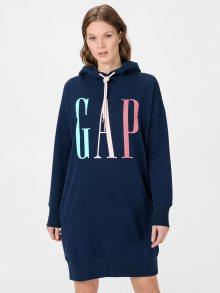 Modré dámské šaty GAP Logo