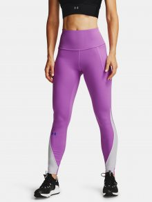 Fialové legíny Under Armour CG Rush Legging