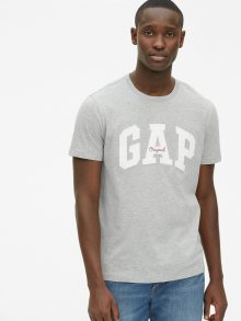 Šedé pánské tričko GAP Logo