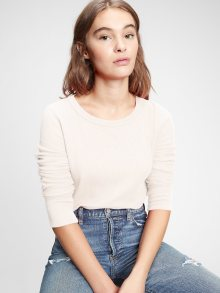 Smetanové dámské tričko GAP