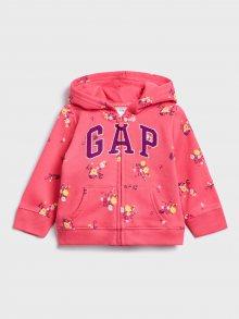 GAP růžová dívčí mikina - 5YRS