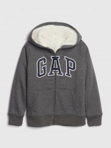 GAP šedá chlapecká mikina - L