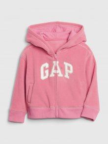 GAP růžová dívčí mikina - 2YRS