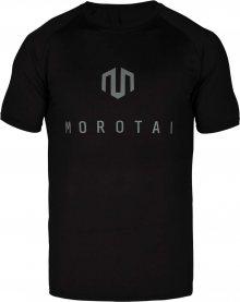 MOROTAI Funkční tričko černá / stříbrně šedá