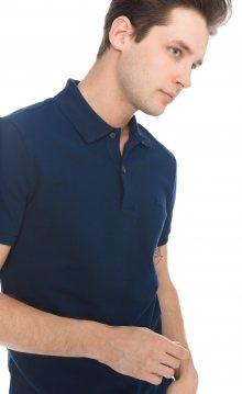 Polo triko Lacoste | Modrá | Pánské | S