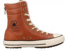 Converse Chuck Taylor Hi Rise Boot Rubber W hnědé C553390