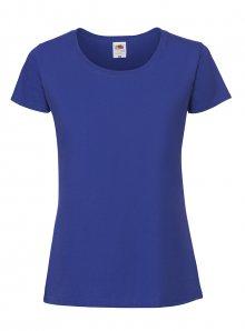 Dámské tričko Premium - Královská modrá XS