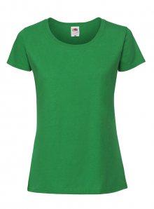 Dámské tričko Premium - Zelená XS