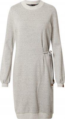 Ragwear Šaty \'PETAH\' šedý melír / bílý melír