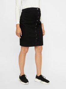 Černá těhotenská džínová sukně Mama.licious
