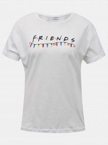 Bílé tričko s potiskem Noisy May