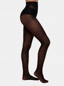 Černé punčochové kalhoty s třpytivým efektem ONLY 40 DEN