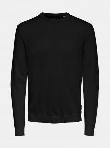 Černý basic svetr ONLY & SONS