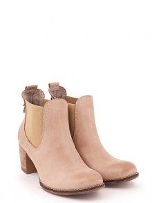Zapato Dámské kotníkové boty 455_cappuccino