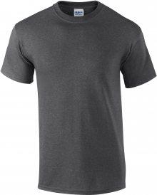 Tričko Gildan Ultra - Tmavě šedá S