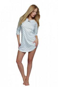 Sensis Agnes dámská noční košile XL mátovo-šedá
