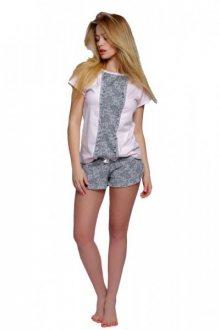 Sensis Diana Dámské pyžamo XL růžovo-šedá