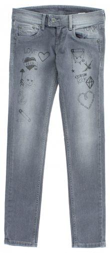 Jeans dětské Pepe Jeans | Šedá | Dívčí | 14 let