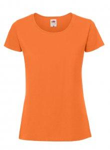 Dámské tričko Premium - Oranžová XS