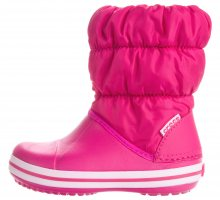 Winter Puff Sněhule dětské Crocs   Růžová   Dívčí   27-28