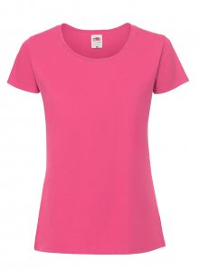 Dámské tričko Premium - Fuchsia XS