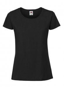 Dámské tričko Premium - černá XS