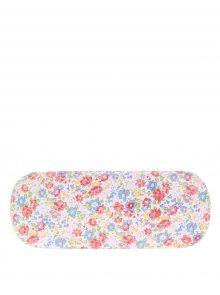 Krémové květované pouzdro na brýle Sass & Belle Floral Spring