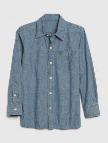 Modrá klučičí košile GAP