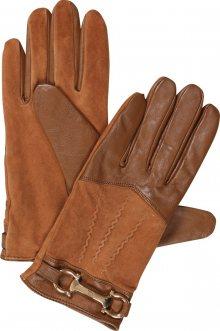 River Island Prstové rukavice písková