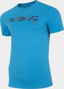 Pánské tričko 4F D4Z20-TSM229 Modré L