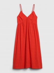 Červené dámské šaty GAP