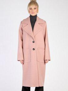 Carla by Rozarancio Dámský loose fit kabát CR18F P3121_POWDER PINK\n\n