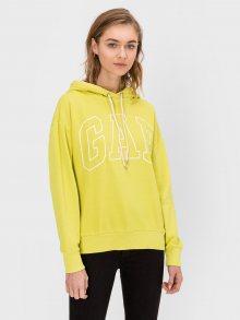 GAP žlutá dámská mikina s logem - XXS