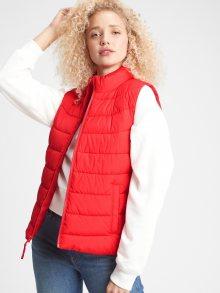 GAP červená dámská vesta - XL